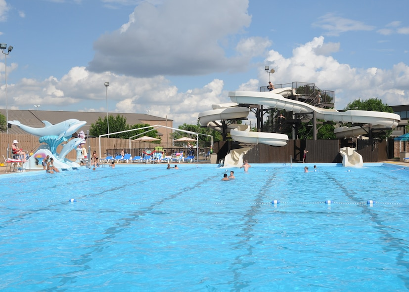 hill air force base outdoor swimming pool art