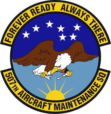 507th Aircraft Maintenance Squadron patch