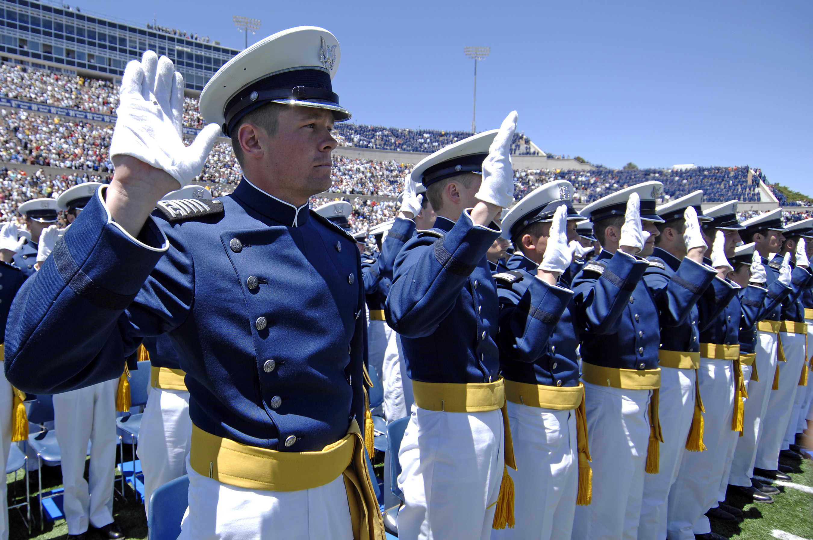 in review 2009 united states air force academy display