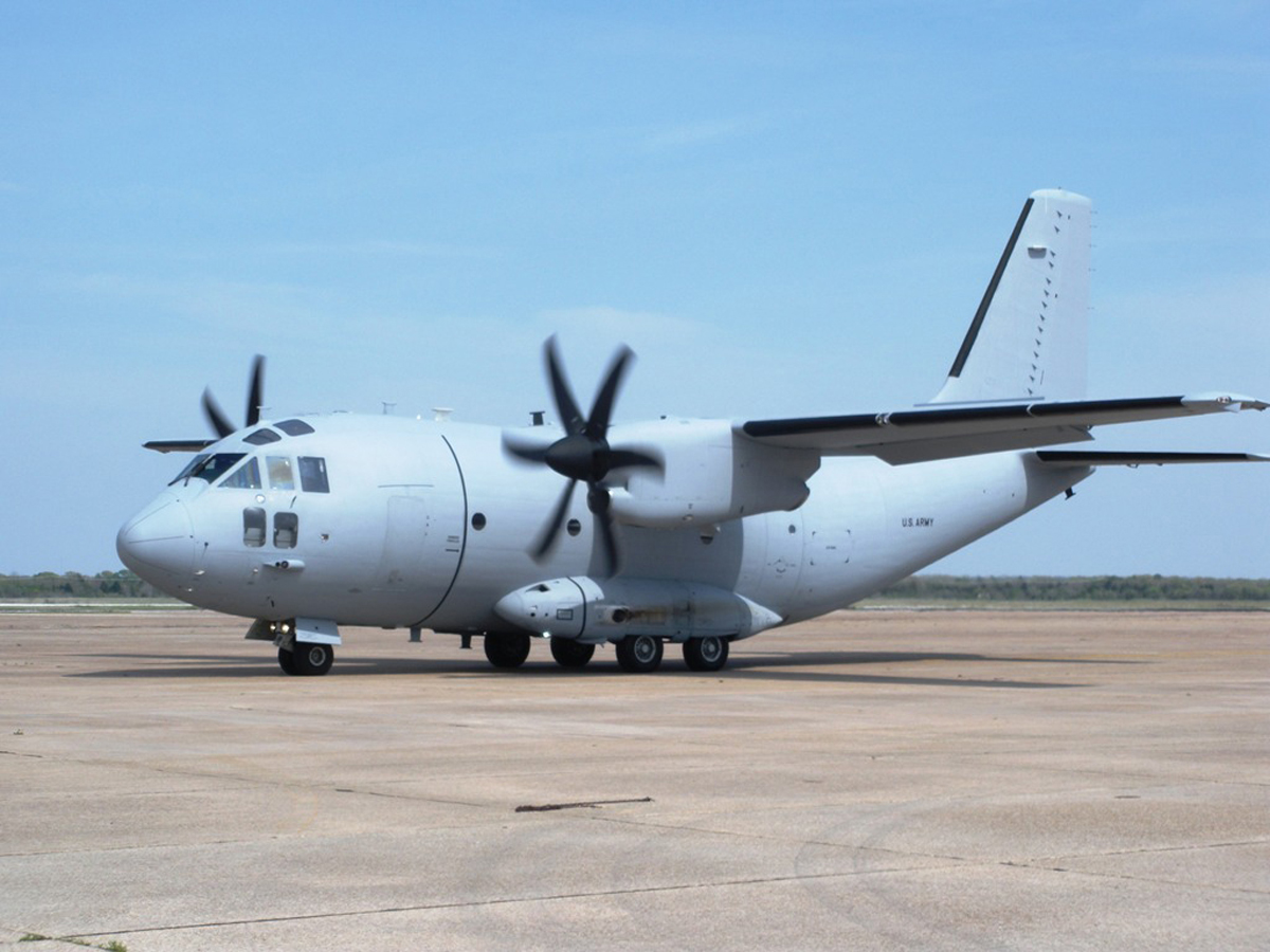 Air Force Officials Announce C 27j Aircraft Basing