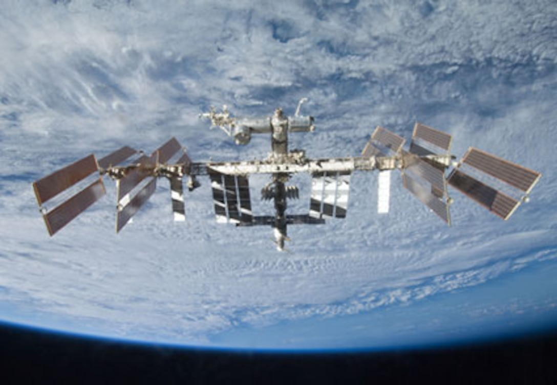 A view of the International Space Station. (Photo courtesy of NASA)