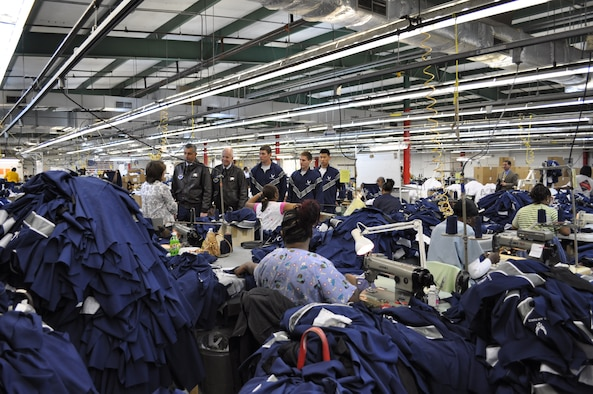 Cathy Griffith, American Power Source Operations Manager, explains to