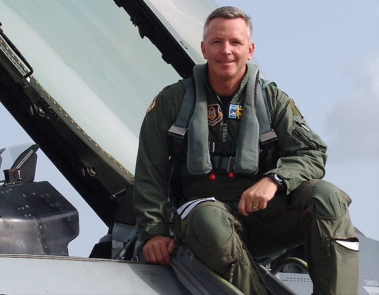 Brig. Gen. William Binger, 482nd Fighter Wing Commader. (U.S. Air Force photo)