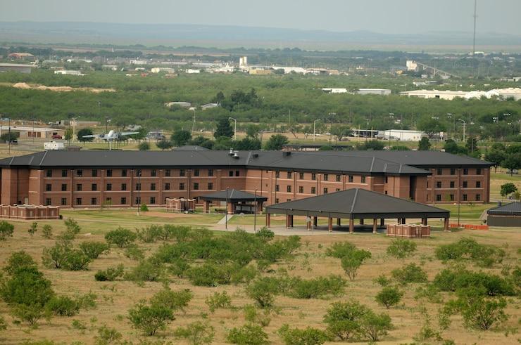 Goodfellow AFB pipeline dormitories.  (U.S. Air Force photo/Tech. Sgt. John Barton)