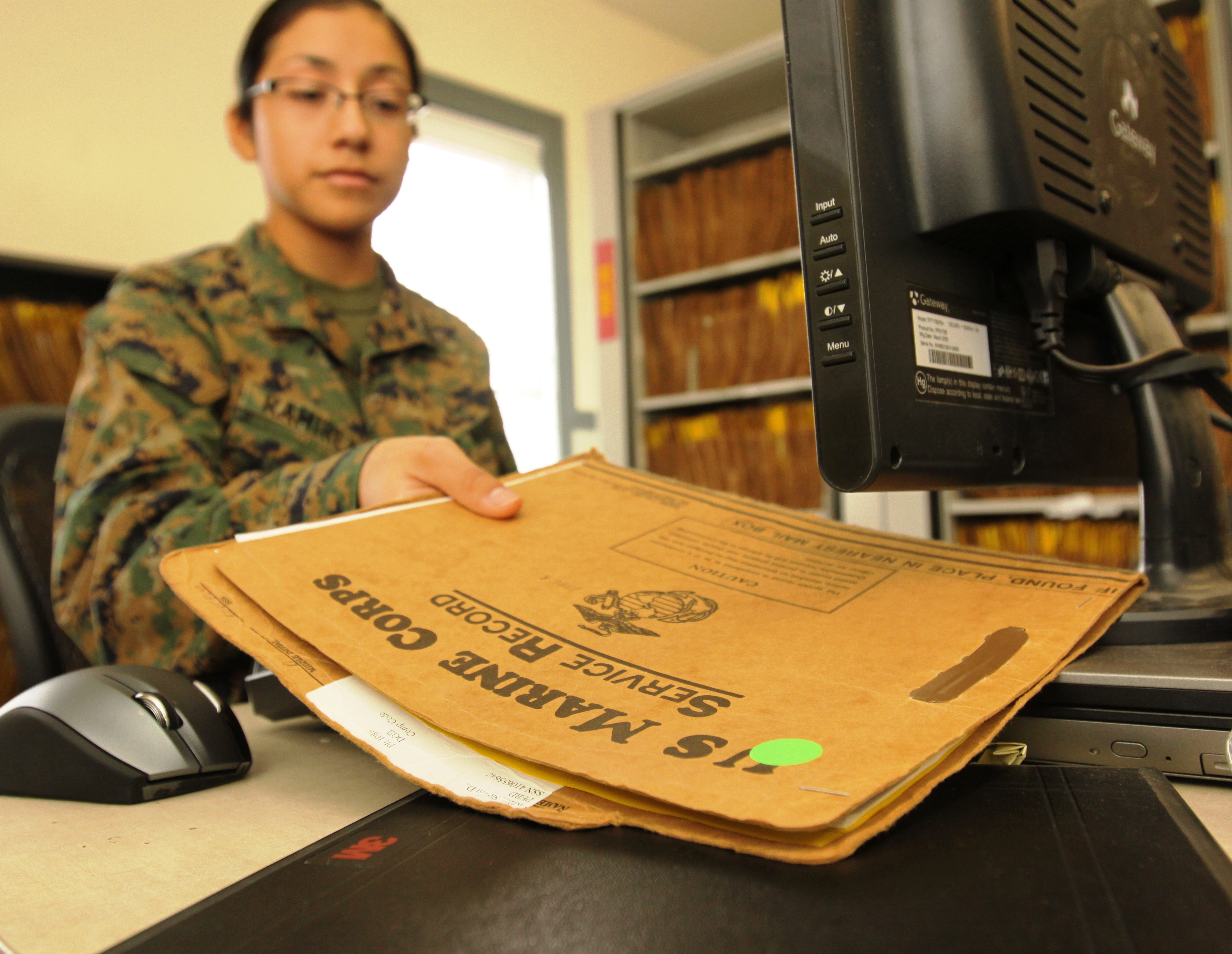 new device tracks service records marine corps base camp pendleton