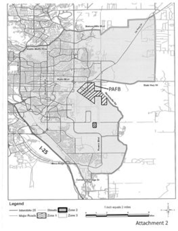 Peterson Air Force Base From Tiny Air Field To Sprawling Complex - Map of air force bases in us