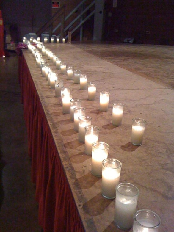 HONOLULU -- A candlelight vigil with more than 100 attendees including