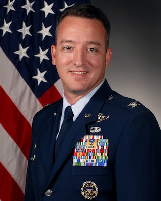 Col. Patrick Mordente, 314th Operations Group commander