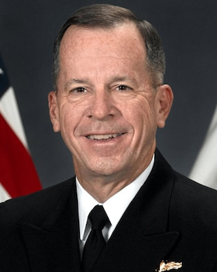 U.S. Navy Adm. Michael G. Mullen is Chairman, Joint Chiefs of Staff.