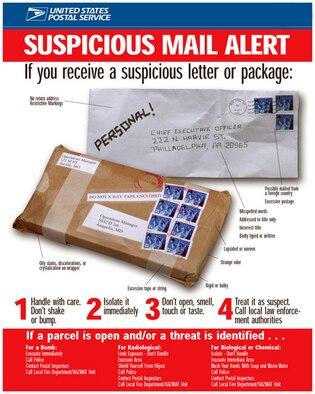 Suspicious package