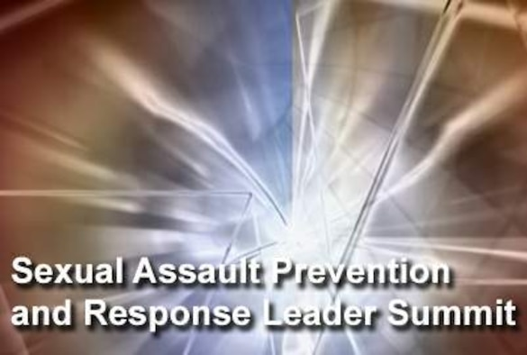 To reinforce the service's commitment to protect Airmen and maintain a safe environment, senior leaders gathered for the 2009 Air Force Sexual Assault Prevention and Response Leader Summit Nov. 16, 2009, in Washington, D.C. (U.S. Air Force graphic)