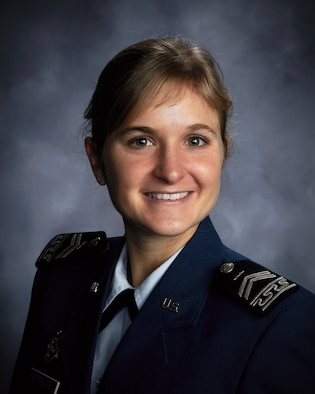 Cadet 1st Class Brittany Morreale was awarded one of 32 Rhodes Scholarships for 2010. Cadet Morreale, from Palos Verdes Estates, near Los Angeles, Calif., is a senior at the U.S. Air Force Academy majoring in physics. (U.S. Air Force photo)