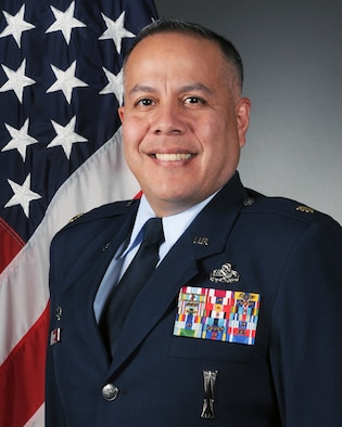 Maj. Dennis Higuera, 314th Maintenance Operations Squadron commander