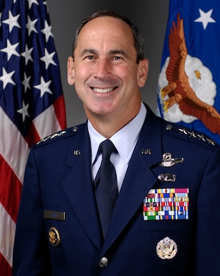 Gen. Raymond E. Johns Jr. is the commander of Air Mobility Command headquartered at Scott Air Force Base, Ill.  (U.S. Air Force Photo)
