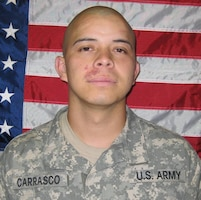 Spc. Tony Carrasco Jr., 25, died Nov. 4, 2009, 4th Bde, 1st ID