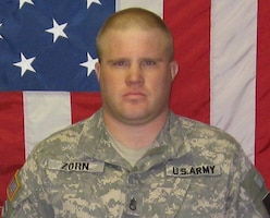 Staff Sgt. Ryan L. Zorn, 35, died Nov. 16, 2009, Transition Team member