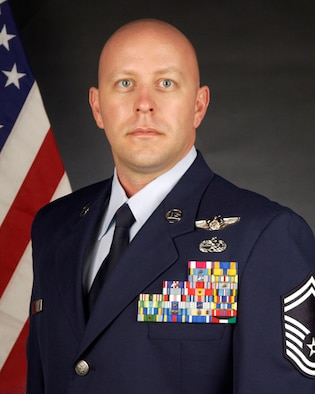 Senior Master Sgt. Jason Red, an HH-60G Pave Hawk helicopter aerial gunner from the 129th Rescue Squadron, was named the California Air National Guard's Senior NCO of the Year.
