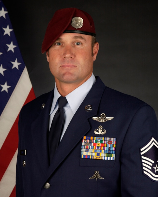Air Force Association Outstanding Airmen of the Year, Senior NCO Category: Senior Master Sgt. Eric Burke, 131st RQS