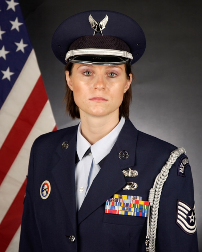 Outstanding Airmen of the Year, Honor Guard Category: Tech. Sgt. Rachel Velasco 129th FSF