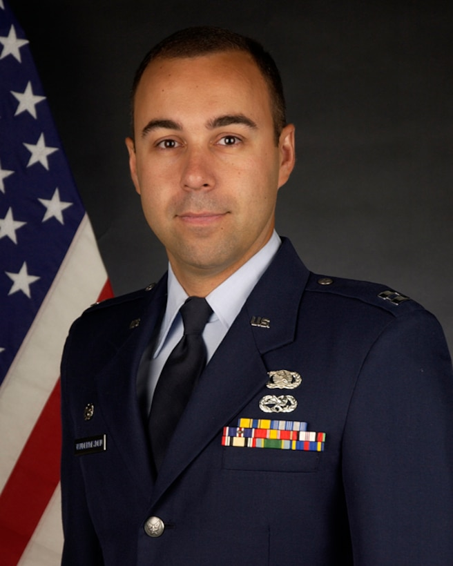 Air Force Association Outstanding Airmen of the Year, Company Grade Officer Category: Capt. Michael Vandermeyden, 129th MOF