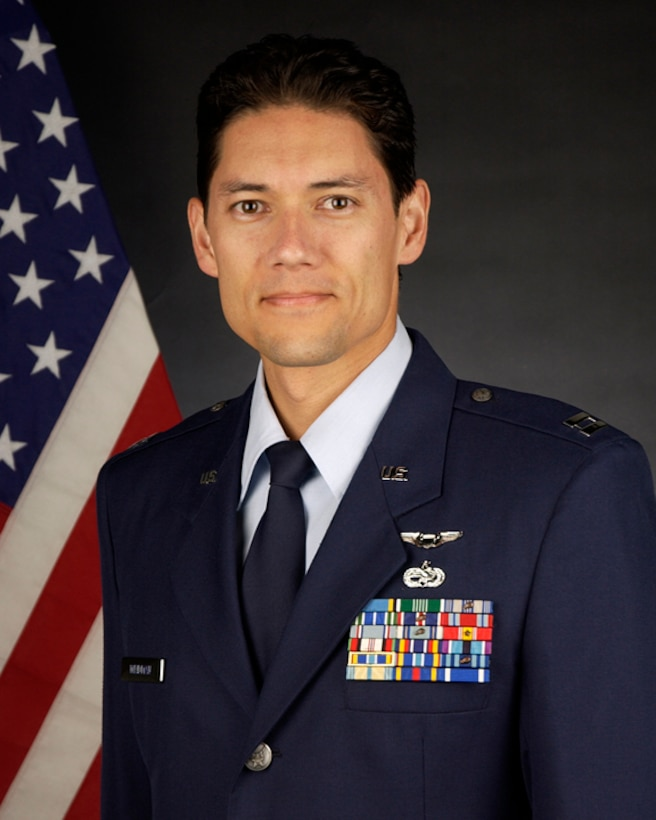 Outstanding Airmen of the Year, Company Grade Officer Category: Capt. David Weidman, 129th RQS