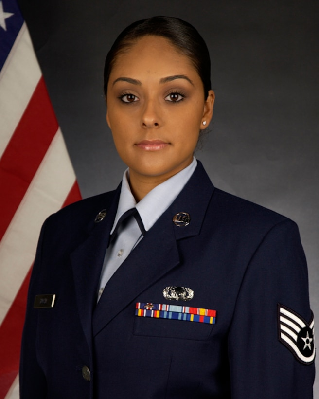 Outstanding Airmen of the Year, Airman Category:  Staff Sgt. Leslie Zapata, 129th OSF