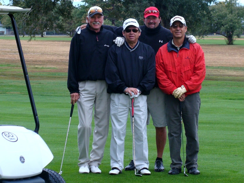 Participant's line up for a photo after Buckley's 2nd Panther Pride golf tournament, Sept. 25. (Courtesy photo)