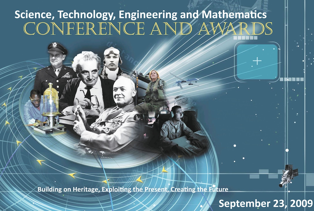 The Air Force held its first Science, Technology, Engineering and Mathematics conference and awards ceremony at the U.S. Air Force Academy in Colorado Springs, Colo., Sept. 23, 2009. (U.S. Air Force illustration)