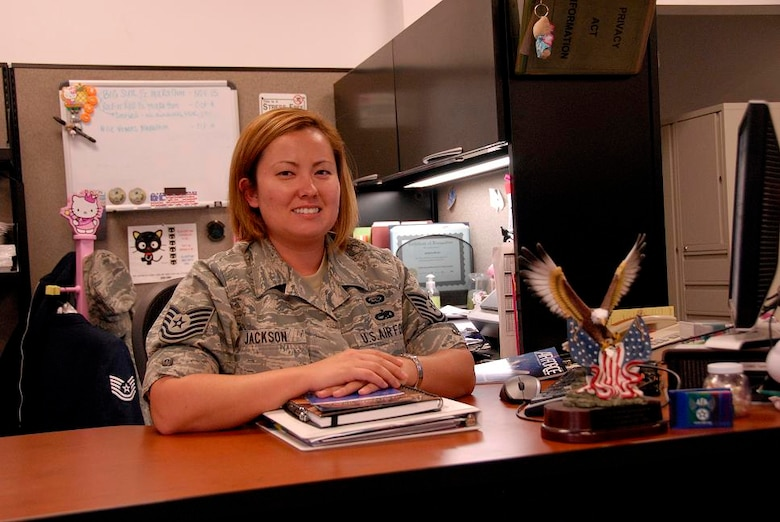 Tech. Sgt. Jessica Jackson, the maintenance group education and training manager for the 129th Maintenance Operations Flight, was selected to serve as a council member for the Air Force Association's Air National Guard Council.