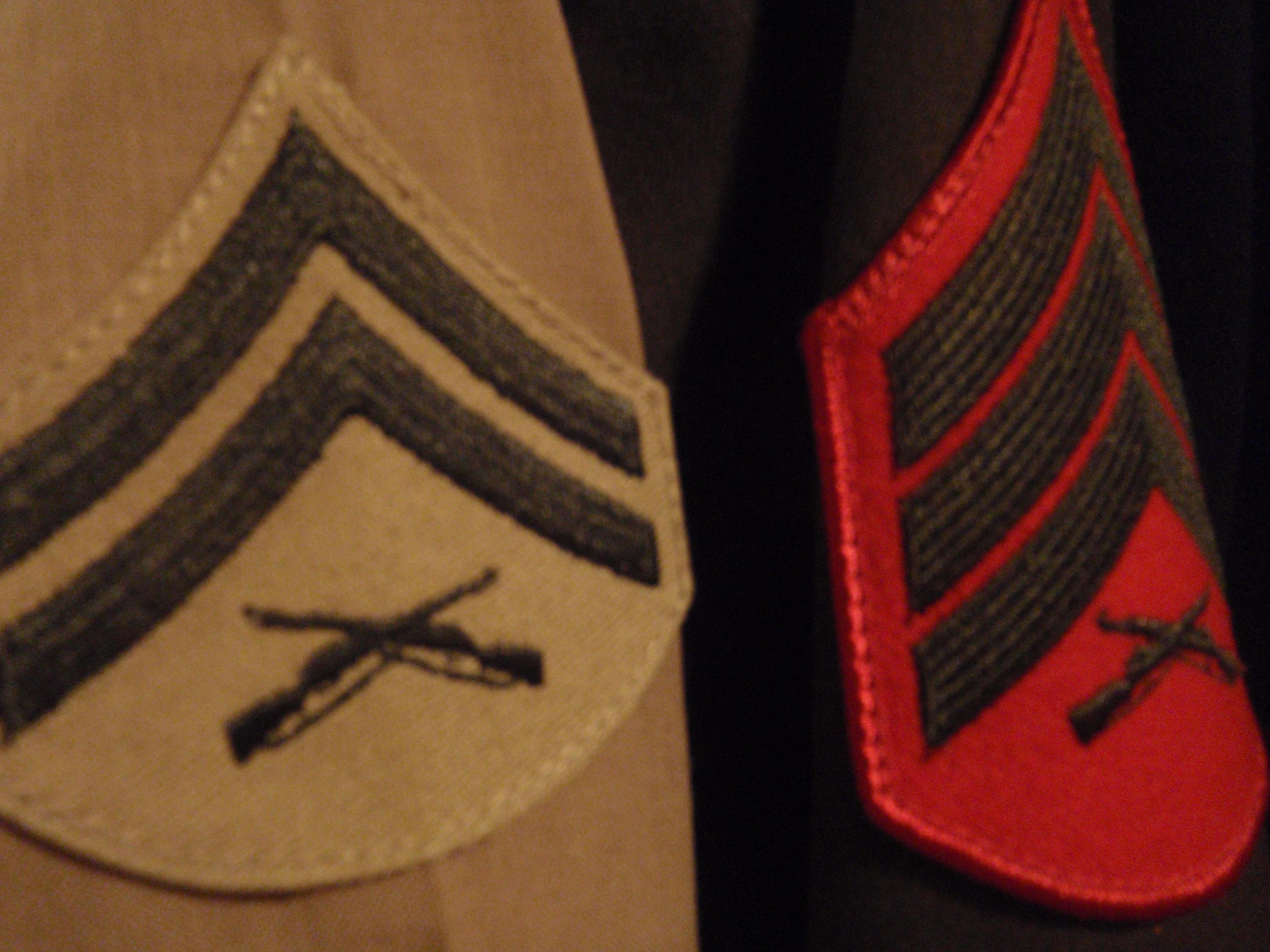 United States Marine Corps rank insignia