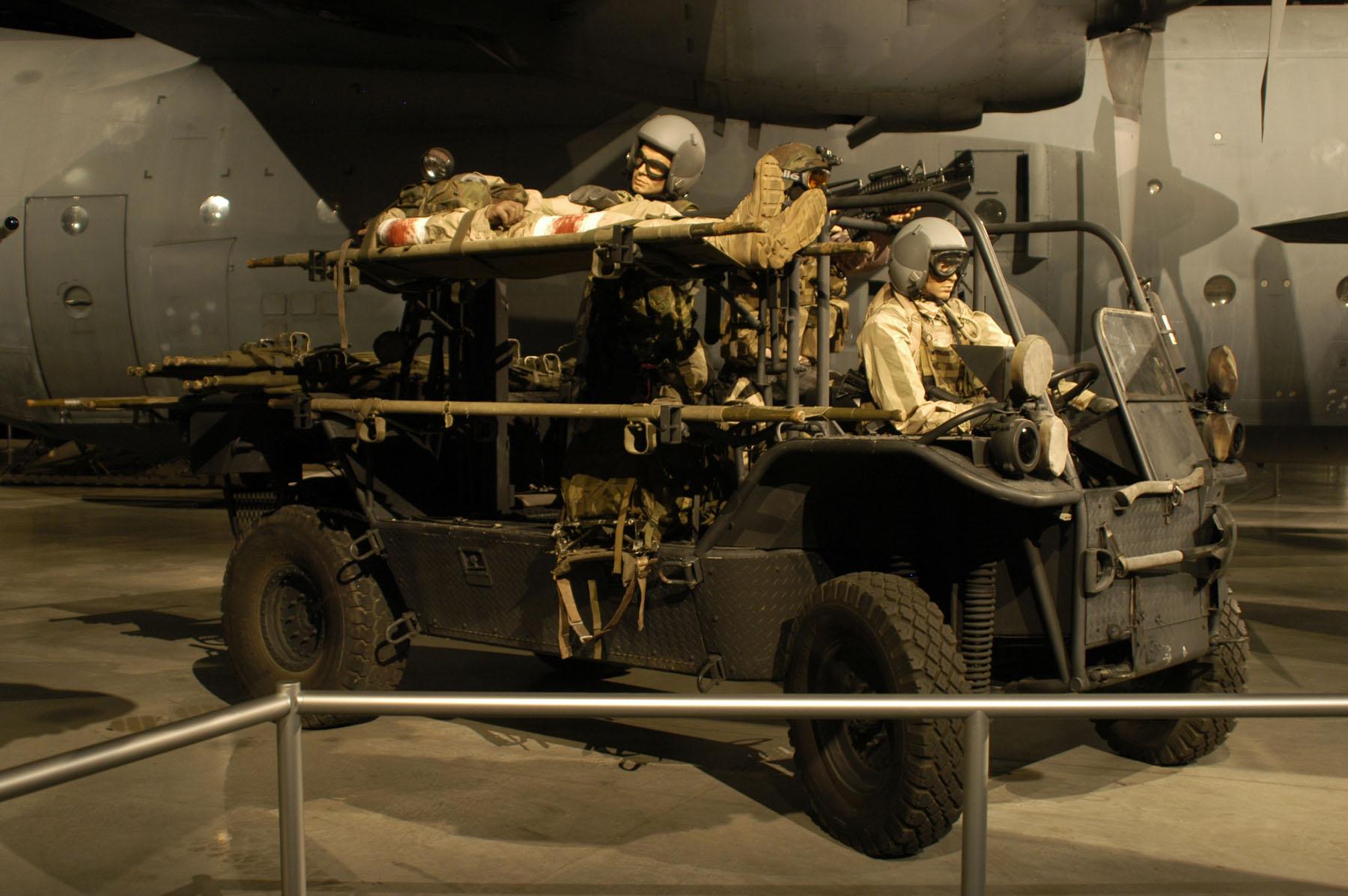 R 1 Rescue All Terrain Transport Ratt Gt National Museum
