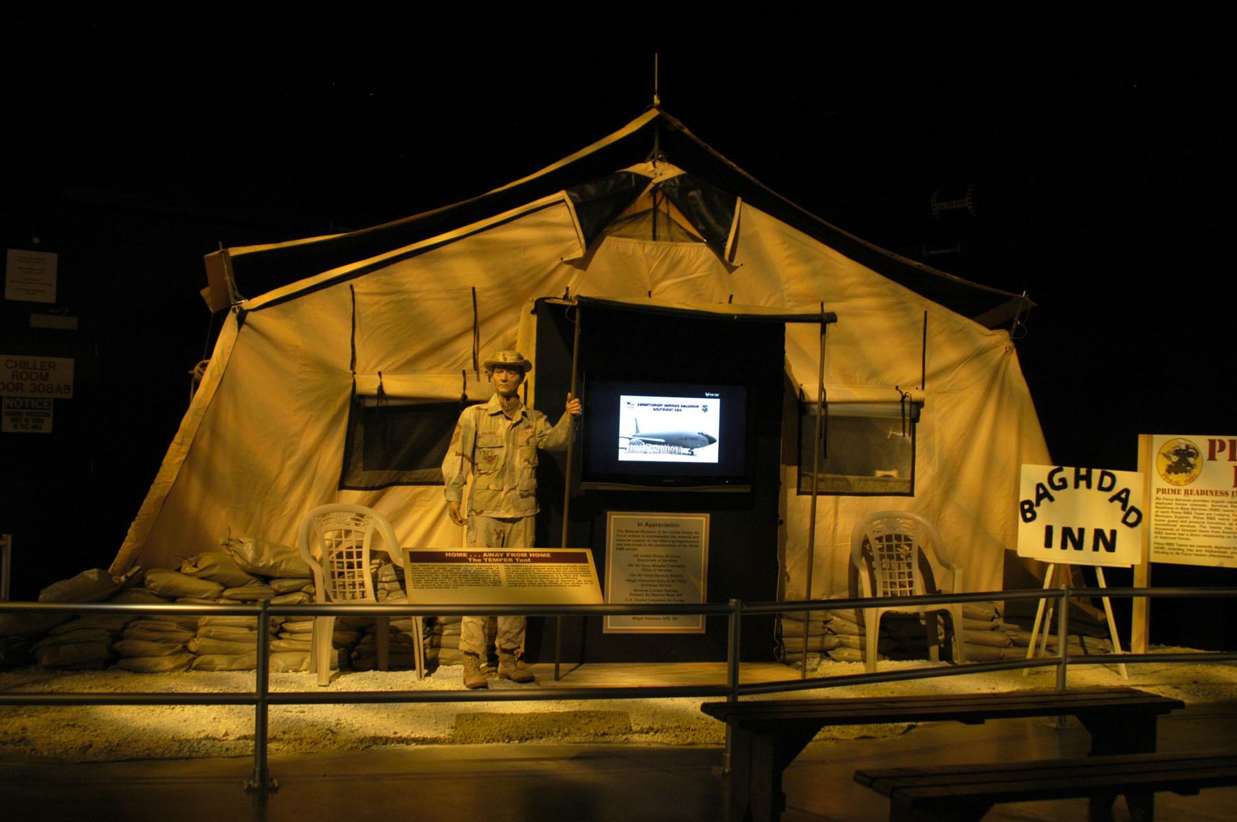 TEMPER Tent & TEMPER Tent u003e National Museum of the US Air Force™ u003e Display