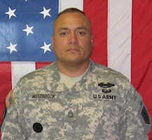 Sgt. 1st Class Kenneth W. Westbrook, Died Oct. 7, 2009, Transition Team member