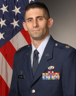 Maj. Constantine Tsoukatos, 19th Component Maintenance Squadron commander