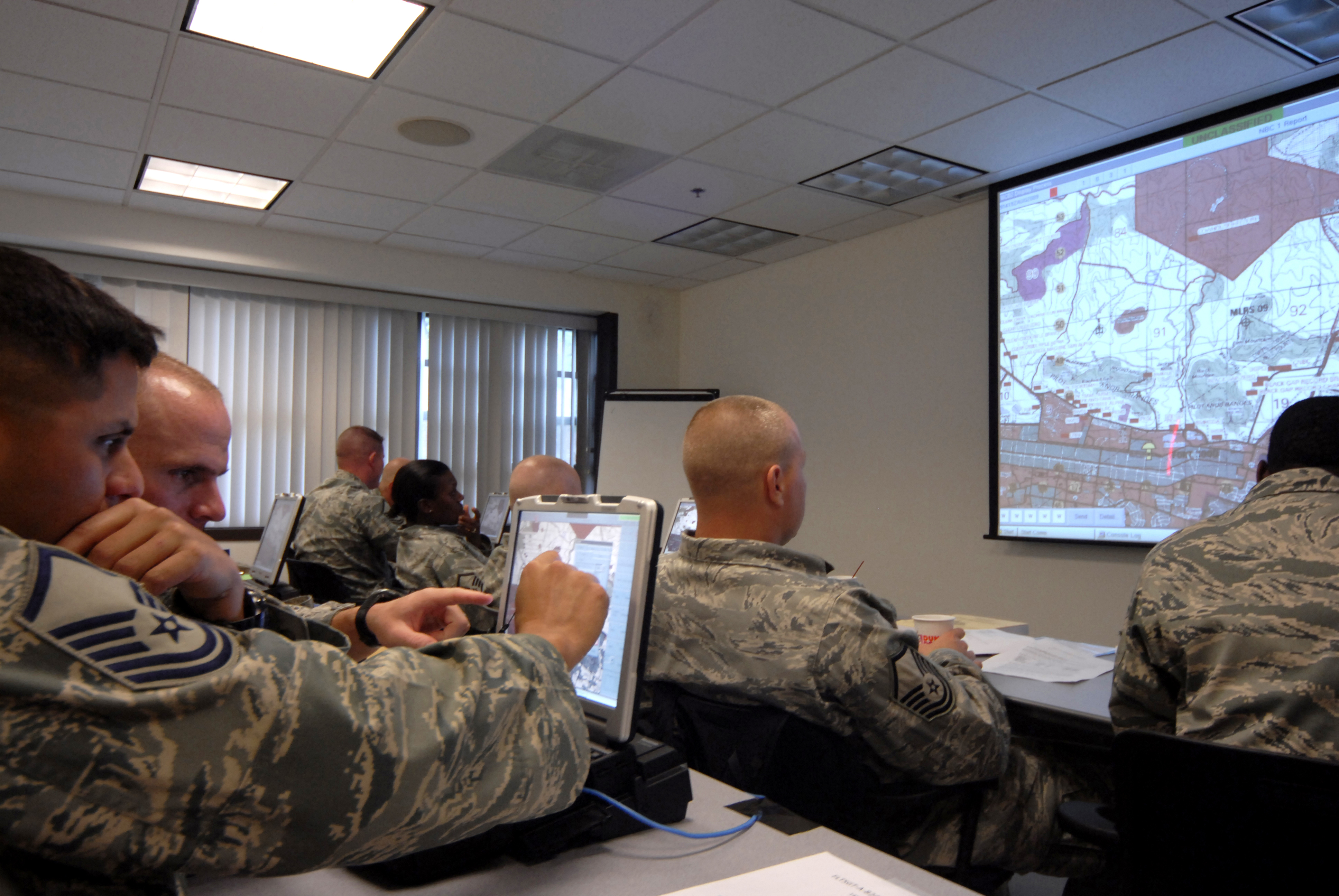 joint training initiative at expeditionary center prepares security