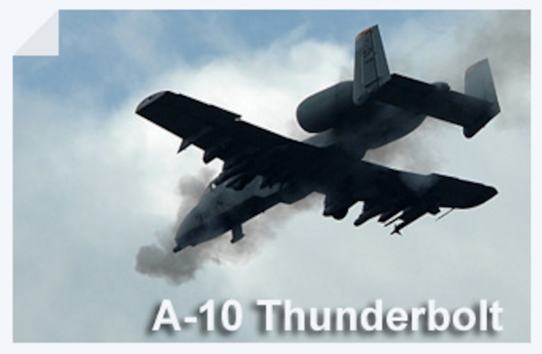 The A-10 Thunderbolt II has excellent maneuverability at low air speeds and altitude, and is an highly accurate weapons-delivery platform. (U.S. Air Force illustration)