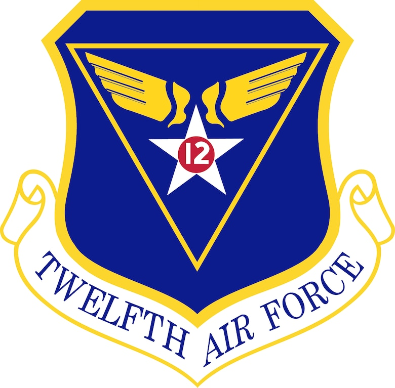 Twelfth Air Force shield