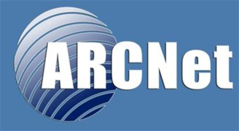 ARCNet -- Air Reserve Component Network logo
