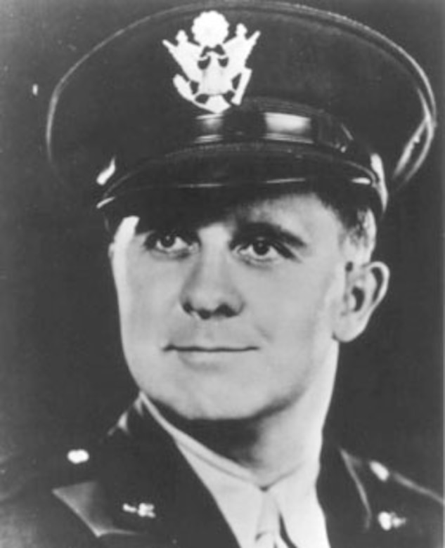 Lt. Clark V. Poling, Dutch Reformed Chaplain. (U.S. Air Force photo)