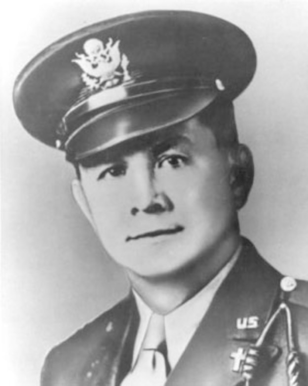 Lt. George L. Fox, Methodist Chaplain. (U.S. Air Force photo)