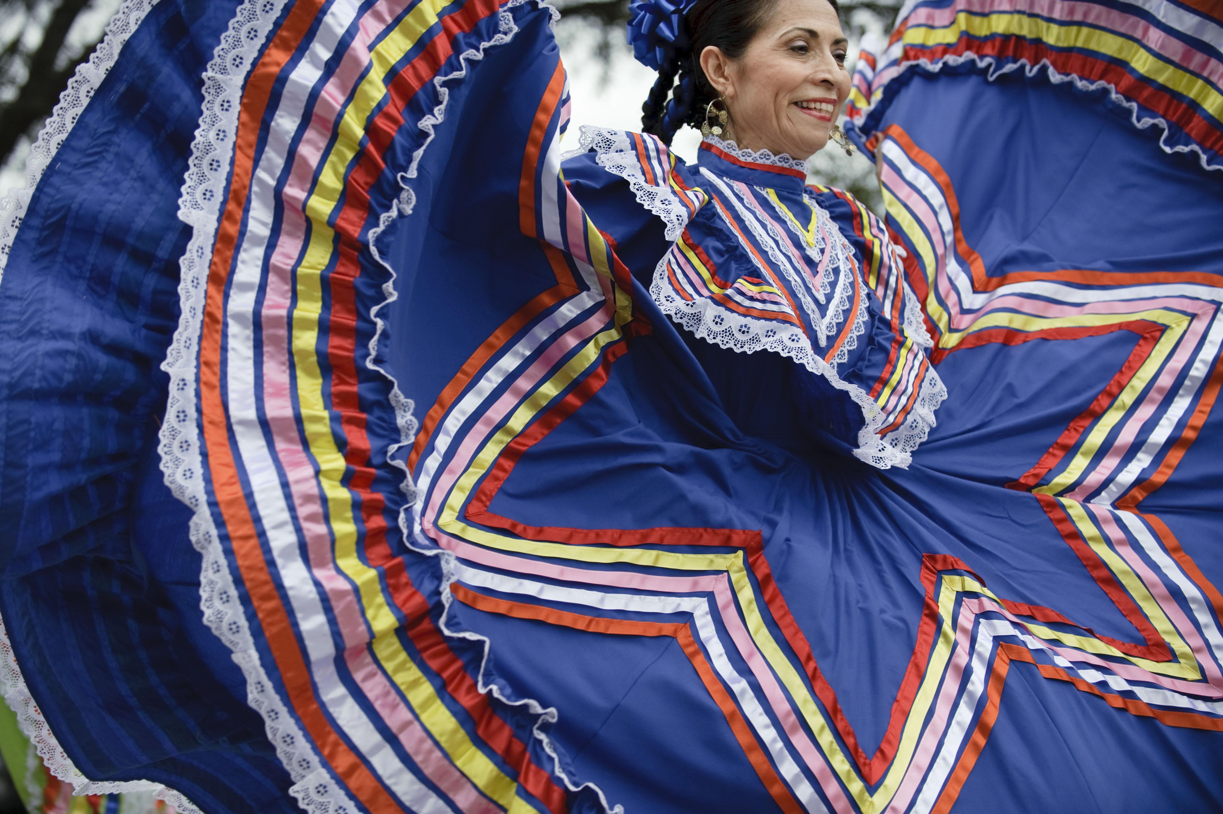 Hispanic Heritage Month Off To Festive Start With Folk