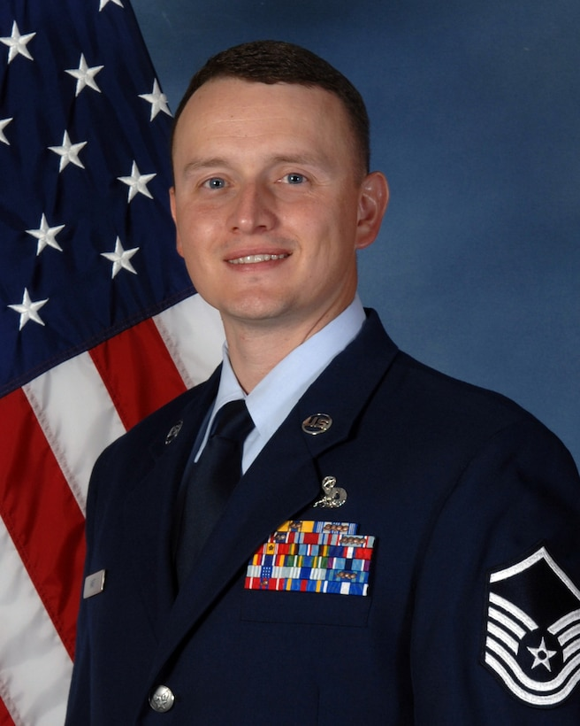 BUCKLEY AIR FORCE BASE, Colo. -- Congratulations to Master Sgt. Christopher Hart, 460th Space Communications Squadron, who is the 14th Air Force Senior NCO of the Quarter. (U.S. Air Force photo by Senior Airman Erika Brooke)