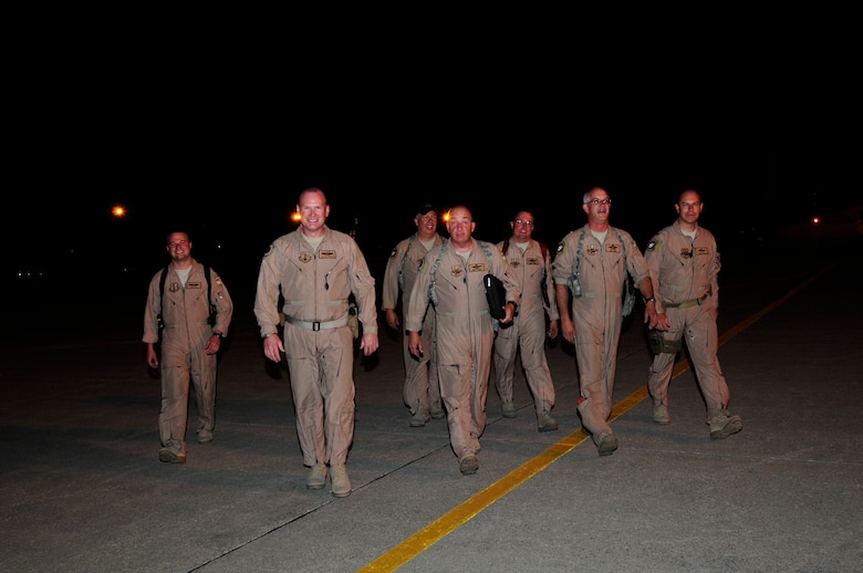 The LC-130 crew deployed to Afghanistan for 30 days returned home Sept. 15.