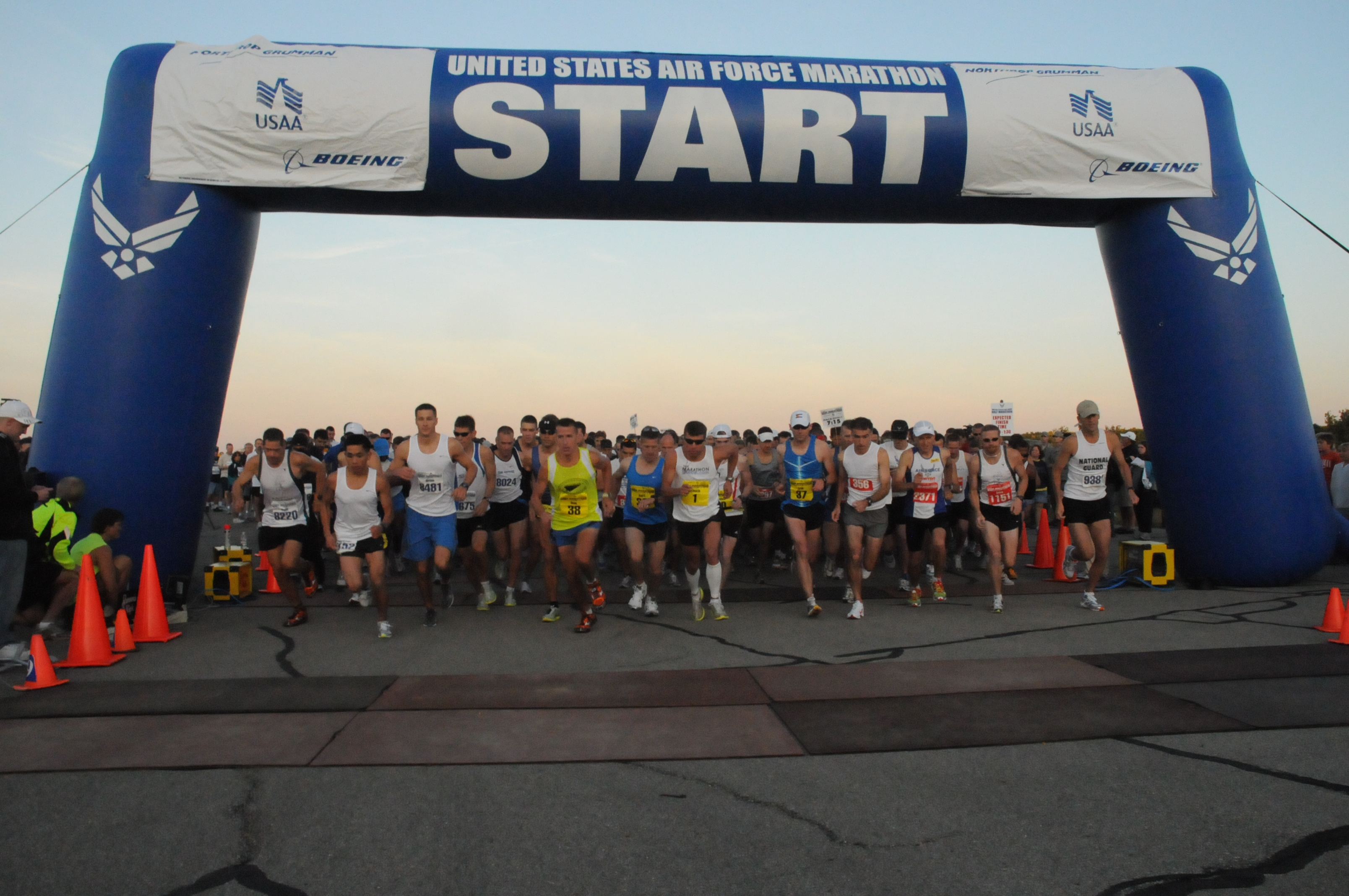 Military Pay Chart 2015 Usaa: Record crowd turns out for Air Force Marathon e U.S. Air Force ,Chart