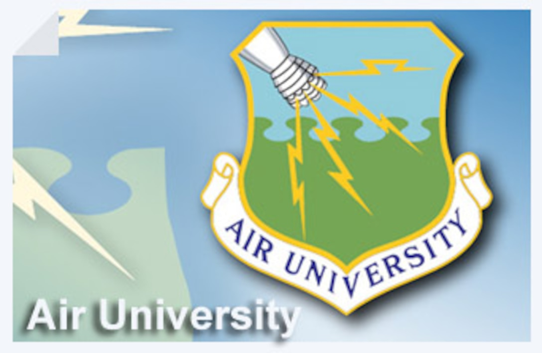 Air University, with headquarters at Maxwell Air Force Base, Ala., is a key component of Air Education and Training Command, and is the Air Force's center for professional military education.