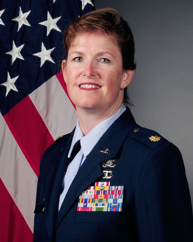 Maj. Debbie Horne, 19th Force Support Squadron commander