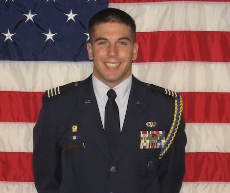 Cadet Col. Ryan W. Castonia was recently named the 2009 United States Air Force Cadet of the Year by the Air Force Chief of Staff, Gen. Norton A. Schwartz. (Courtesy photo)