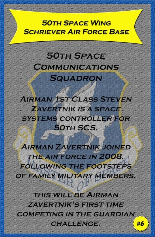 Airman 1st Class Steven Zavertnik, 50th Space Communications Squadron.  (U.S. Air Force photo illustration/Staff Sgt. Daniel Martinez)