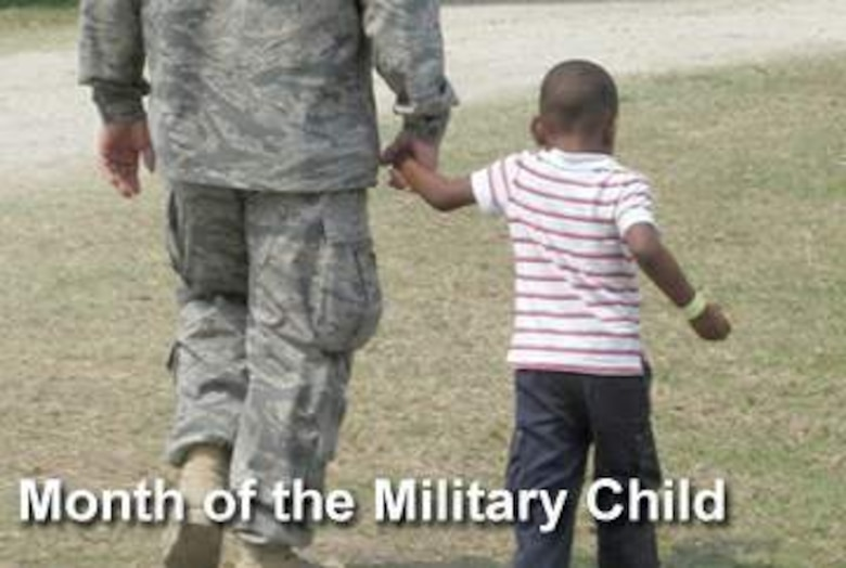 In recognition of military children and their families, Air Force Services officials are highlighting a variety and scope of programs in partnership with base agencies for Month of Military Child and Year of the Air Force Family. (U.S. Air Force photo illustration)