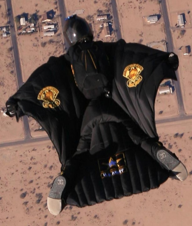 U s a p t soldier plans to break world record in wing suit flight altus air force base - Military wingsuit ...